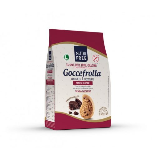 Goccefrolla con gocce di cioccolato -  vaníliás keksz csokidarabokkal