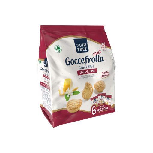 Gluténmentes keksz vaníliás-citromos Goccefrolla Classica Bonta 6x40g
