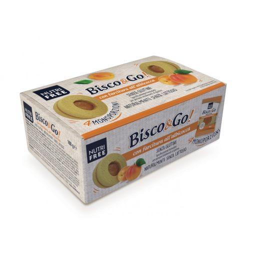 Bisc&go Albicocca - sárgabarackos linzer 4x40g