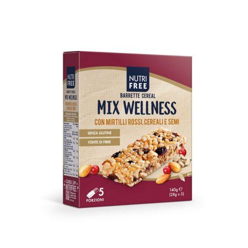 Barrette Cereal Mix Wellness Müzliszelet 5x28g