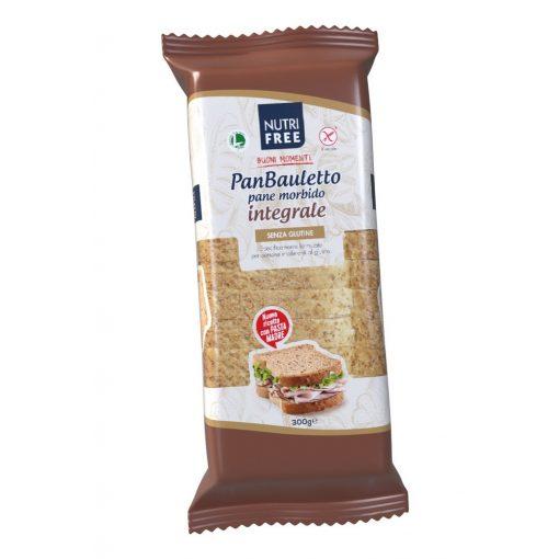 Panbauletto Integrale - teljes kiőrlésű szeletelt kenyér 300g