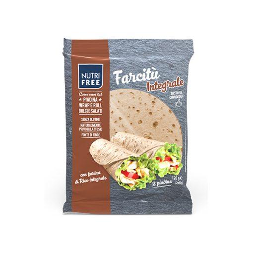 Farcitu Integrale 2x60g - Teljes kiőrlésű Tortilla lap